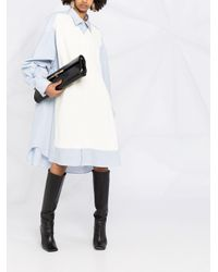 Maison Margiela White Jumper Shirt Dress