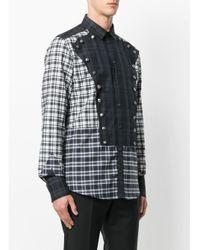 メンズ Dolce & Gabbana マルチチェック シャツ Multicolor