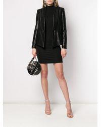 Эластичное Платье С Высоким Воротником Styland, цвет: Black