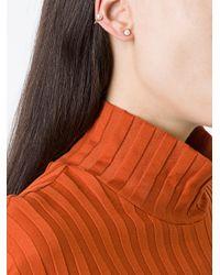Yvonne Léon - Metallic White Pearl Epingle Earring - Lyst