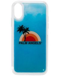 メンズ Palm Angels Iphone Xs ケース Blue
