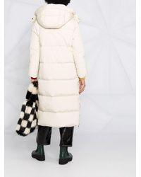 Woolrich キルティング フーデッドコート Multicolor