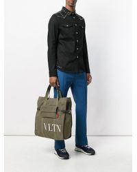 Valentino Green Vltn Tote for men