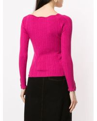 Loveless リブニット セーター Pink