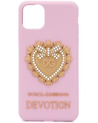 Dolce & Gabbana Iphone 11 Pro ケース Pink
