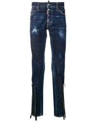 Jeans Cool Guy effetto vissuto di DSquared² in Blue da Uomo