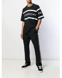 メンズ Givenchy ロゴ Tシャツ Black