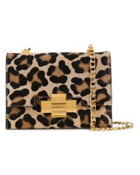 N°21 - Multicolor Leopard Print Shoulder Bag - Lyst
