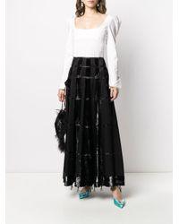 Dior 2000s プレオウンド Aラインスカート Black