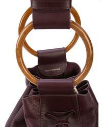 Ulla Johnson Purple Piera Hobo Bag