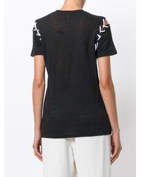 IRO Black T-shirt With Stitching