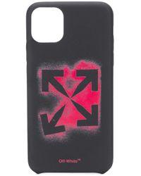 Чехол Для Iphone 11 Pro Max С Логотипом Arrows Off-White c/o Virgil Abloh для него, цвет: Black