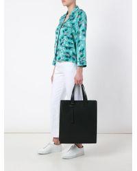 PB 0110 - Black Rectangular Tote Bag for Men - Lyst