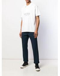 Рубашка-поло С Логотипом KENZO для него, цвет: White