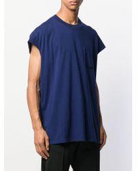 Maison Margiela Jersey-T-Shirt in Blue für Herren