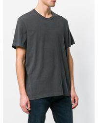 Loose fit T-shirt James Perse pour homme en coloris Gray