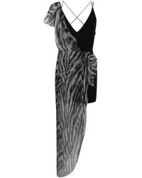 IRO レイヤード ドレス Black
