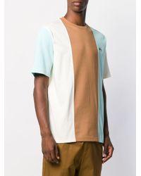 メンズ Lacoste L!ive ストライプ Tシャツ Multicolor