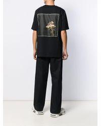 メンズ OAMC スカーフパッチ Tシャツ Black