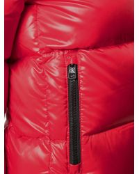 Calvin Klein ジップ パデッドジャケット Red
