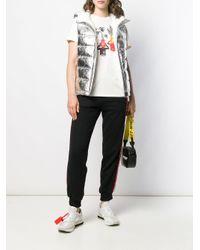 T-shirt con stampa di Off-White c/o Virgil Abloh in White