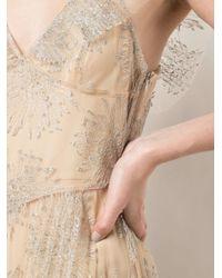 Fleur du Mal プリーツ イブニングドレス Natural