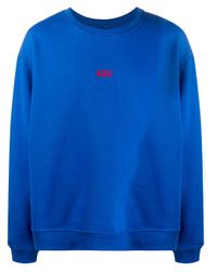 メンズ 424 ロゴ スウェットシャツ Blue