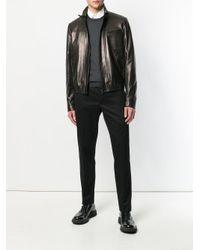 Prada - Black Classic Chino Trousers for Men - Lyst