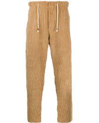 Pantalon de jogging en velours côtelé The Silted Company pour homme en coloris Brown