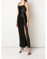 Nicholas Black Side-slit Halterneck Dress
