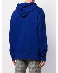 メンズ Polo Ralph Lauren ロゴエンブロイダリー パーカー Blue