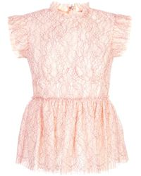 Brock Collection フレア タンクトップ Pink