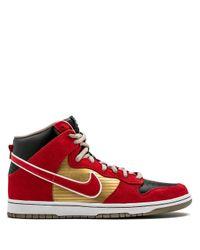 メンズ Nike Dunk High Pro Sb スニーカー Red