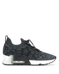 Ash Black Lunatic Star Sneakers