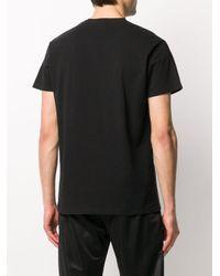 メンズ SSS World Corp グラフィック Tシャツ Black