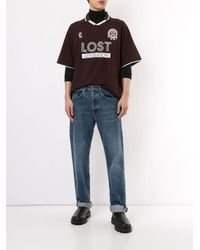 T-shirt Lost generation di Wooyoungmi in Multicolor da Uomo