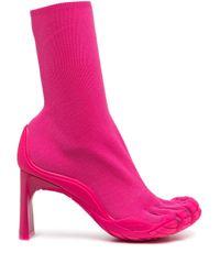 Balenciaga スプリットトゥ ブーティ Pink