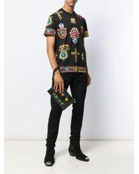 Versace Black Love Pouch for men