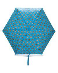 Зонт С Принтом Moschino, цвет: Blue