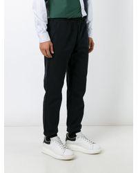 Soulland Black 'bomholt 2.0' Track Pants for men