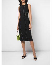 Michael Kors Black Kleid mit Nieten