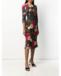 Dolce & Gabbana フローラル スカート Multicolor