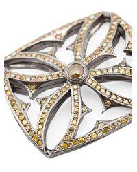 Loree Rodkin - Metallic Giant Maltese Cross Diamond Pendant - Lyst