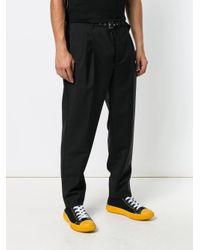 メンズ Prada テーラード パンツ Black