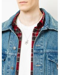 Ambush | Metallic Teddy Bear Charm Necklace for Men | Lyst