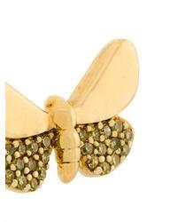 Astley Clarke - Metallic Cinnabar Moth Earrings - Lyst