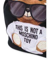 Moschino テディベア バケットバッグ Black