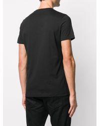 Calvin Klein 'Bae' T-Shirt mit Logo-Patch in Black für Herren