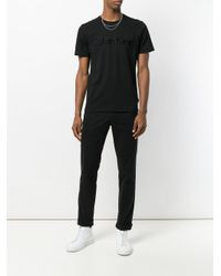 Calvin Klein Black Classic Chinos for men