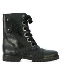 Zadig & Voltaire Black Joe Keith Boots
